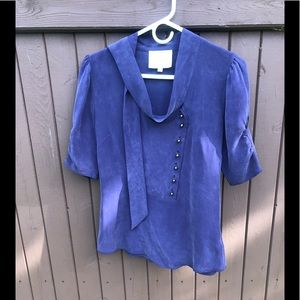 Madison Marcus 100% silk top size M